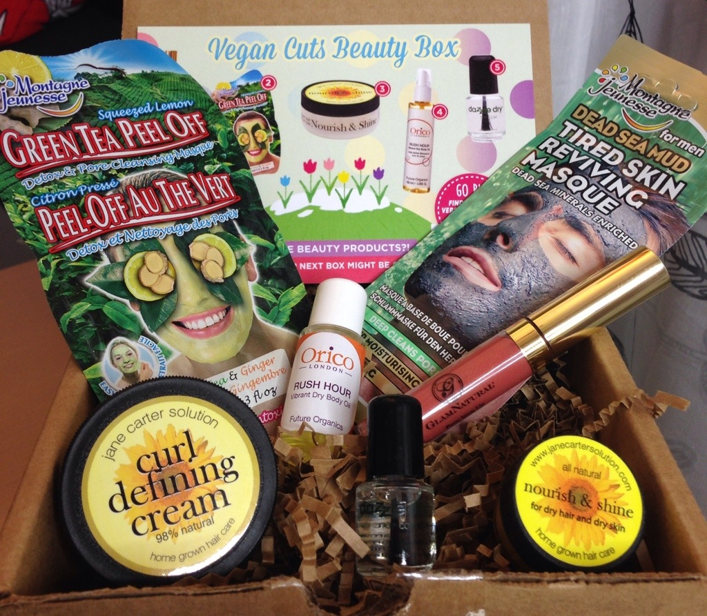 april vegan cuts beauty box