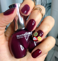 Manicure Monday: Sangria Nails with Bootie Babe Polish