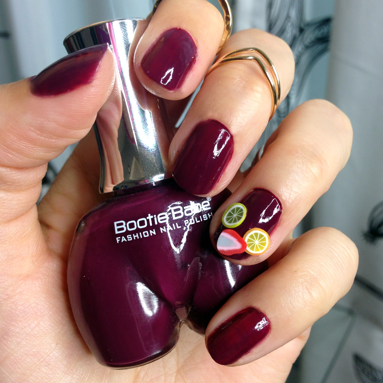 Manicure Monday: Sangria Nails with Bootie Babe Polish - Vegan ...