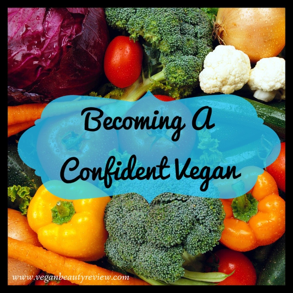 becoming a confident vegan