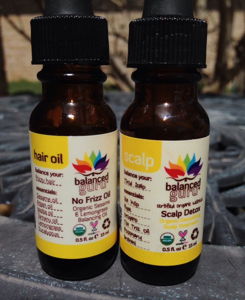 balanced guru hair oils