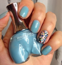 Manicure Monday: Bootie Babe's Coolio Azulio