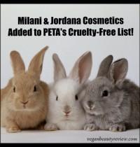 Milani & Jordana Cosmetics Go Cruelty-Free!