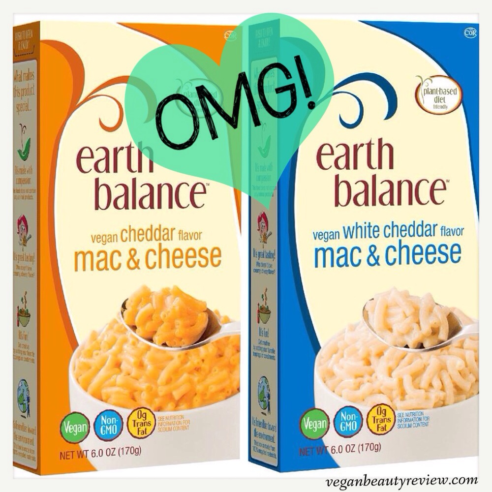 Earth Balance mac & cheese
