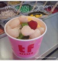 Vegan FroYo at TCBY & Tutti Frutti