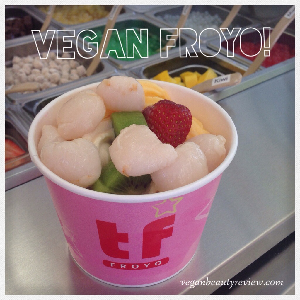 vegan frozen yogurt