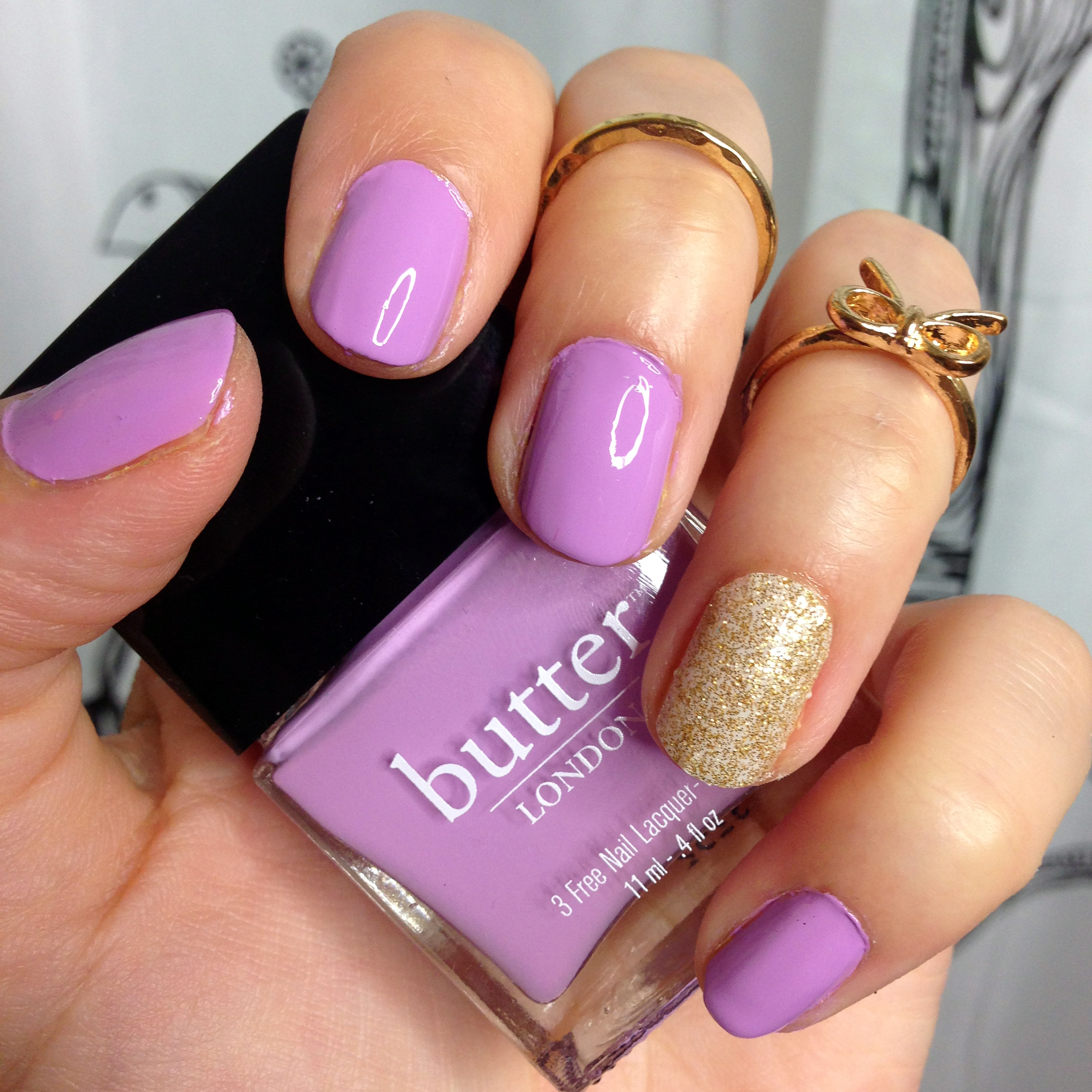 Manicure Monday: Butter London's Molly Coddled - Vegan Beauty Review | Vegan and Cruelty-Free Beauty, Fashion, Food, and Lifestyle
