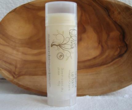 olivia vegan lip balm