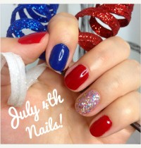 Cruelty-Free and Vegan July 4th Nails!