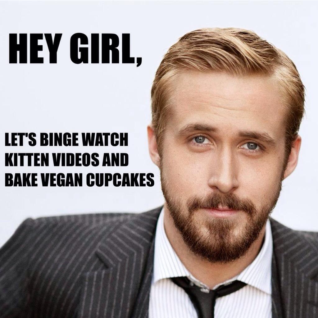 Ryan Gosling, Kittens,...