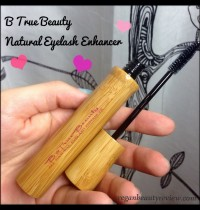 B True Beauty All Natural Eyelash Enhancer Review