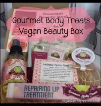 Gourmet Body Treats Vegan Beauty Box Review