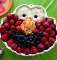 DIY Elmo Fruit Tray (Your Kids Will LOVE)