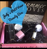 July Petit Vour Vegan Beauty Box Review