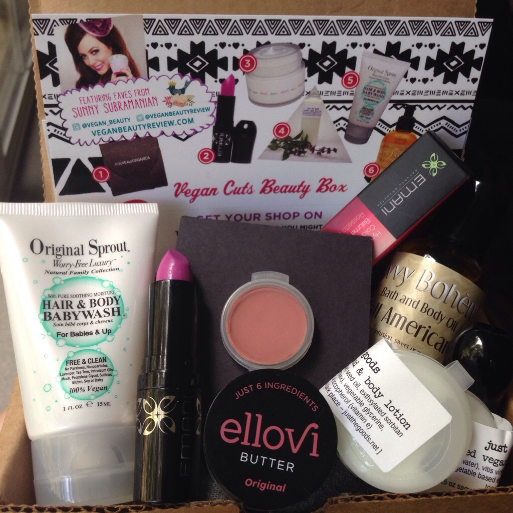 july vegan cuts beauty box