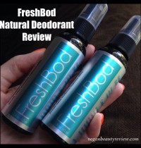 FreshBod Natural Deodorant Review