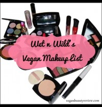 Wet n Wild's Vegan Makeup List