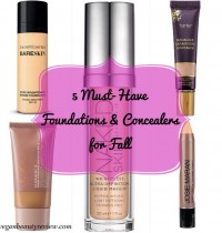 Top 5 Cruelty-Free Foundations & Concealers for Fall