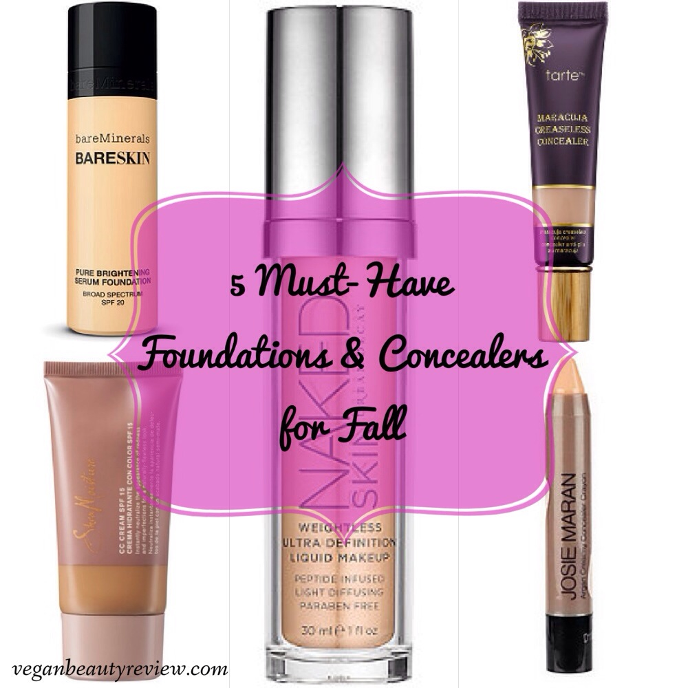 Top 5 Cosmetics for fall