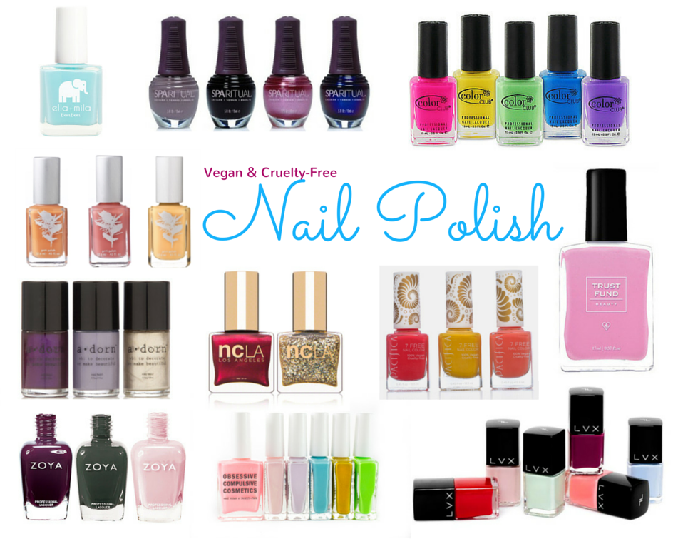 Your Guide to Vegan Nail Polish - Vegan Beauty Review | Vegan and ...
