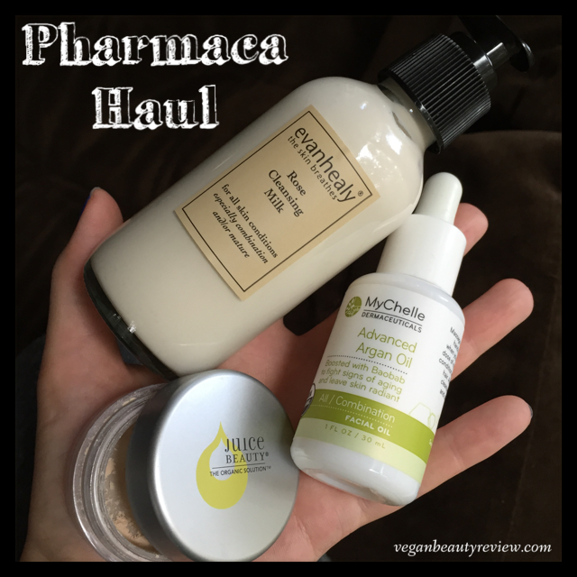 Pharmaca vegan beauty haul