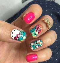 Manicure Monday: ncLA Hello Kitty Nail Wraps