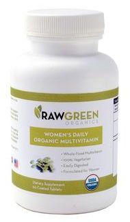 raw green prenatals
