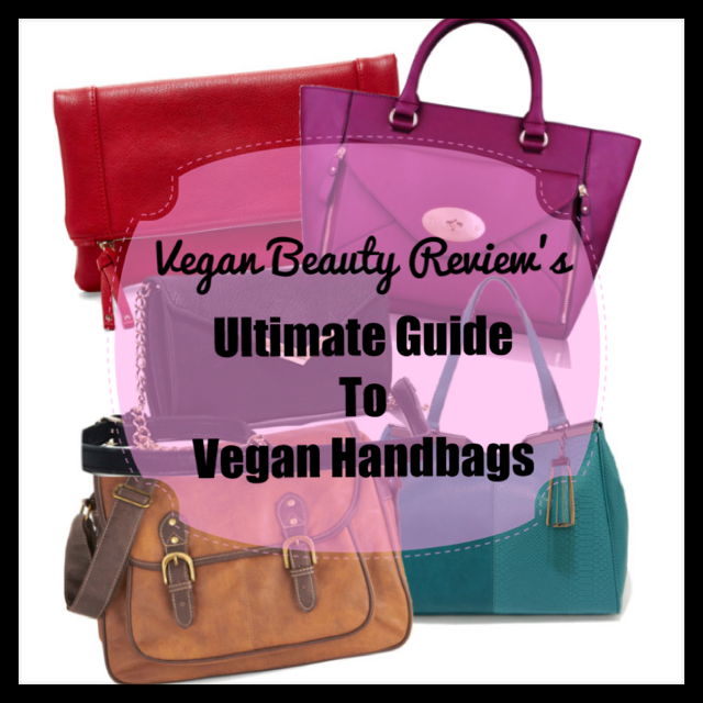guide to vegan handbags