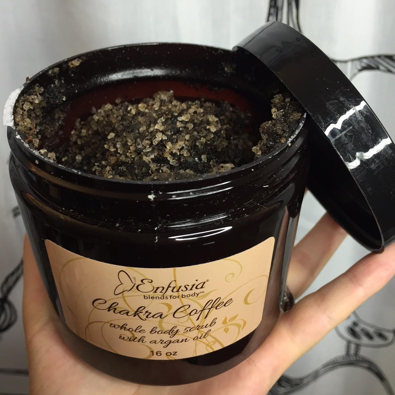 Enfusia Chakra Coffee Scrub