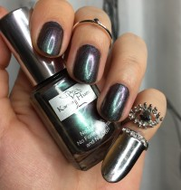 Manicure Monday: Karma Hues 'Metallic Forest'