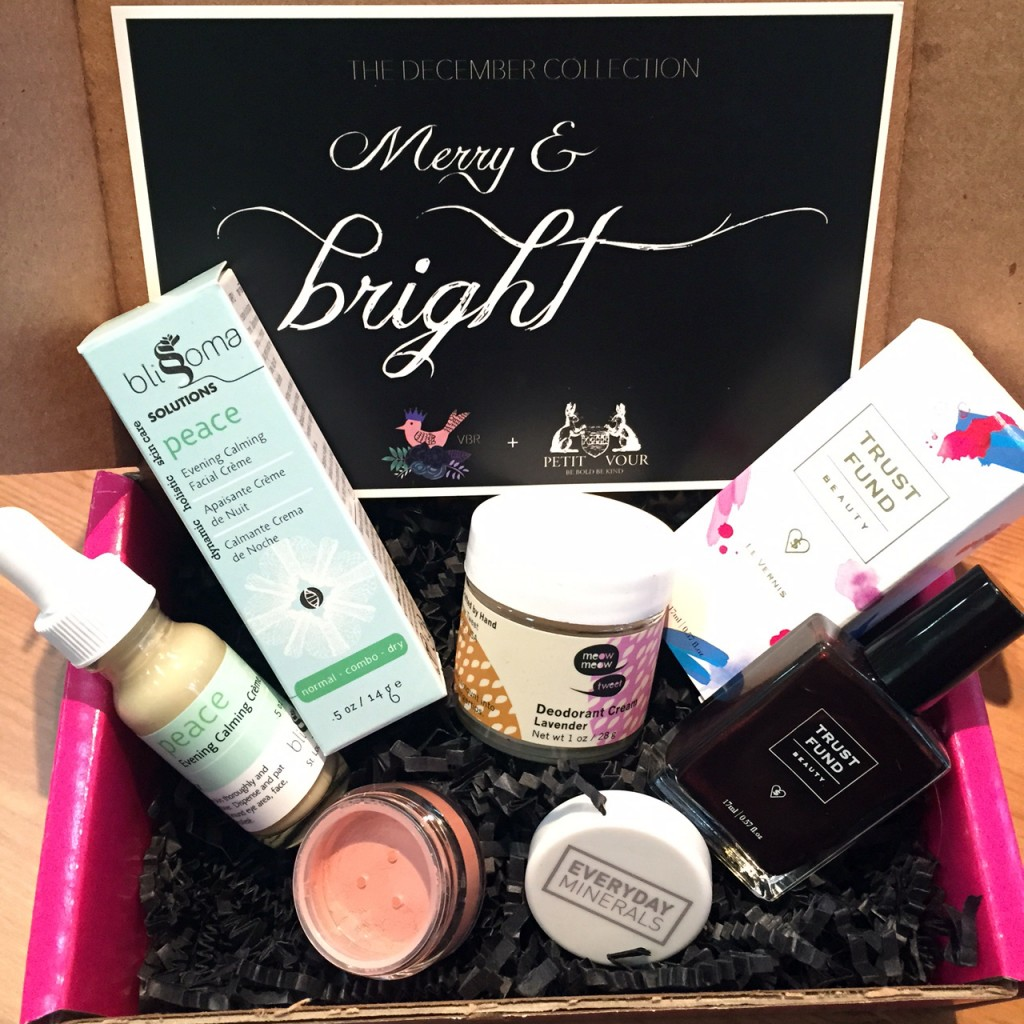 December Petit Vour Vegan Beauty Box