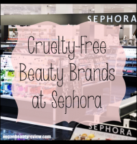 Cruelty-Free Beauty Brands at Sephora