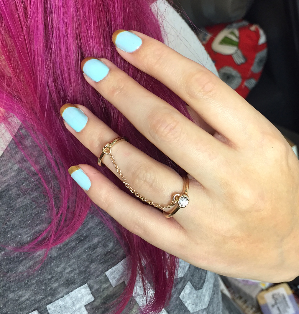 Manicure Monday: Pure Euphoria French Tips - Vegan Beauty Review ...