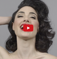 Crazy Awesome Video: 100 Years of Beauty in 1 Minute