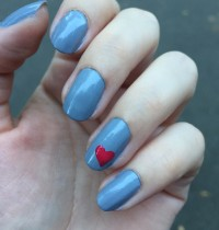 Manicure Monday: LVX Heart Nails