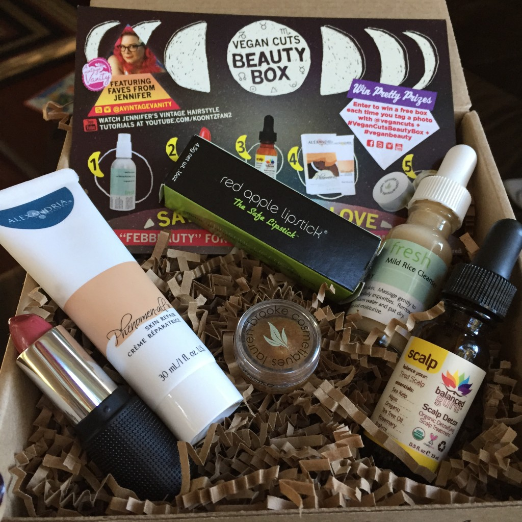 February Vegan Cuts Beauty Box