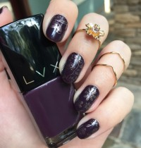 Nails of the Day: LVX Vamp & Eiffel