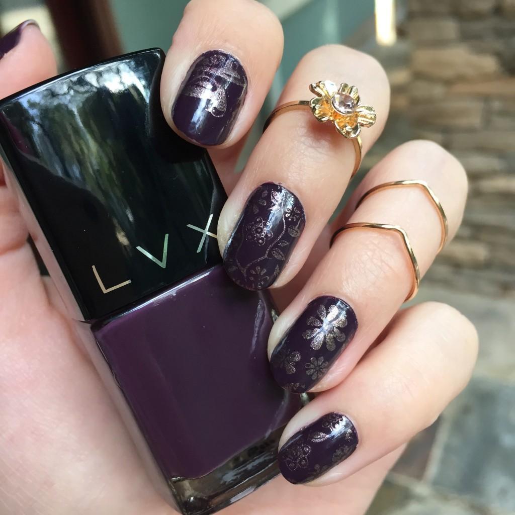 LVX vamp nail polish
