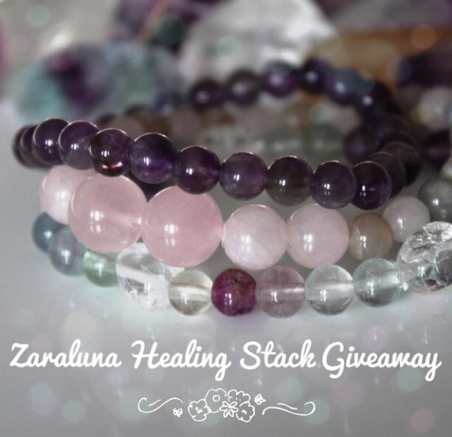Zaraluna Healing Stack giveaway