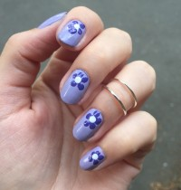 Nails of the Day: Cult Cosmetics Purple Pastels