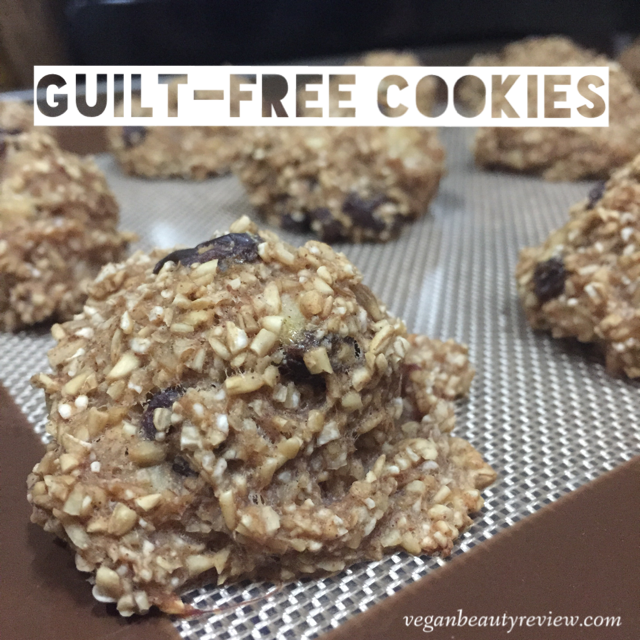 guilt-free vegan cookies