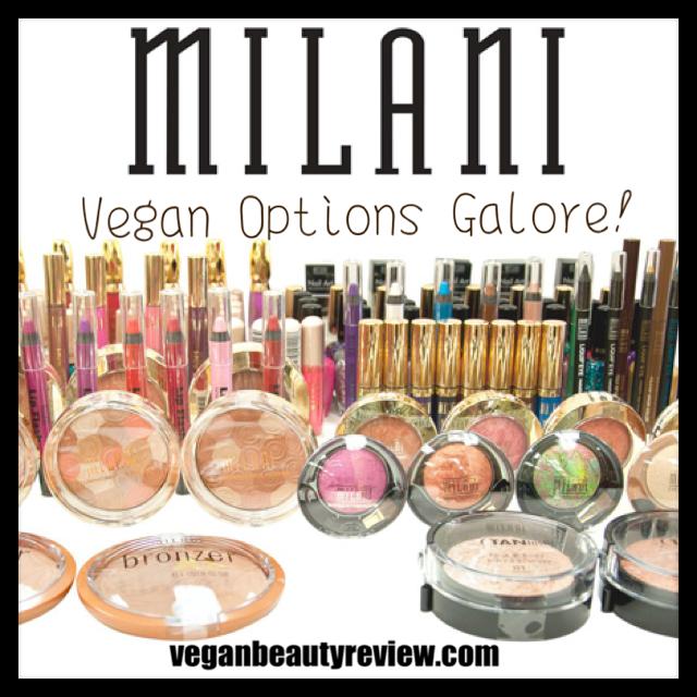 milani vegan cosmetics