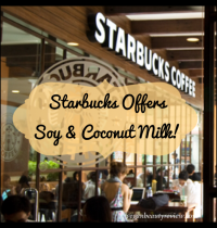 Vegan PSA: Starbucks Now Offers Soy AND Coconut Milk!
