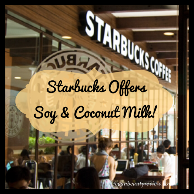 starbucks offers coconut milk