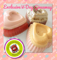 Instagram Heart Soap Giveaway from Strawberry Hedgehog!