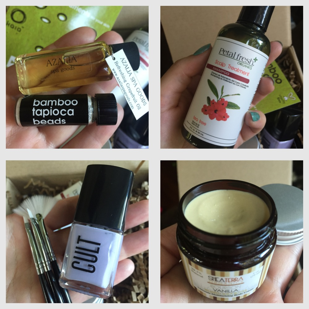 March 2015  vegan cuts beauty box