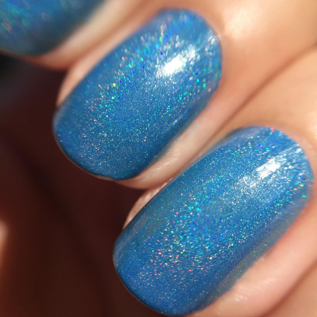 black dahlia nail polish