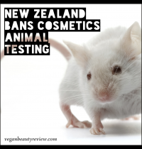 New Zealand Bans Cosmetics Animal Testing