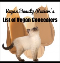 Vegan Beauty Review's List of Vegan Concealers