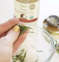 DIY Beauty Recipe: A Lavender-Infused Coconut Oil Hair Treatment